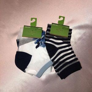 Kate Spade Women's Anklet Socks NWT
